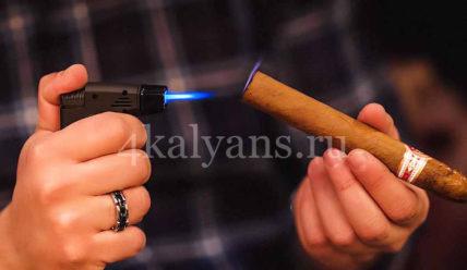 Зажигалка для сигар ( турбо, газовая, бензиновая)