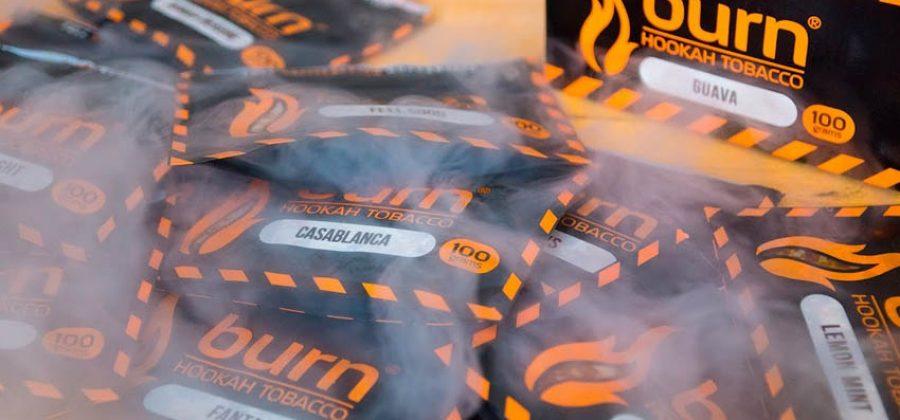 Таинственный табак для кальяна Burn (Бёрн)